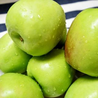 [무료배송] 햇 여름사과 아오리 썸머킹 1.5kg 2개 구매시 빨간사과1kg