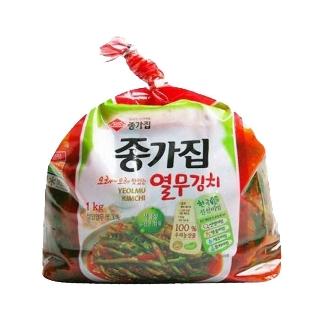 [슈퍼마트]  종가집 투명 열무김치 1kg