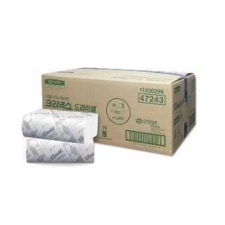 [티몬균일가] 크리넥스 드라이셀 핸드타올 스탠다드 F250 5000매