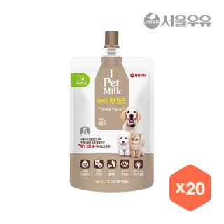 [대용량]서울우유아이펫밀크180ml*20