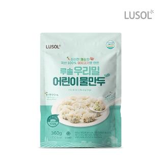 [퍼스트데이] 슈퍼세이브 타임어택 루솔 프우리밀 어린이 물만두 1봉 360g
