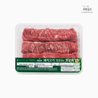 [슈퍼마트] 냉장 허브한돈 갈매기살 300g 1등급 암퇘지 (구이용)