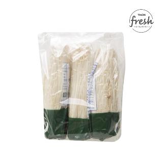 [슈퍼마트] 무농약 팽이버섯(3입봉) 450g
