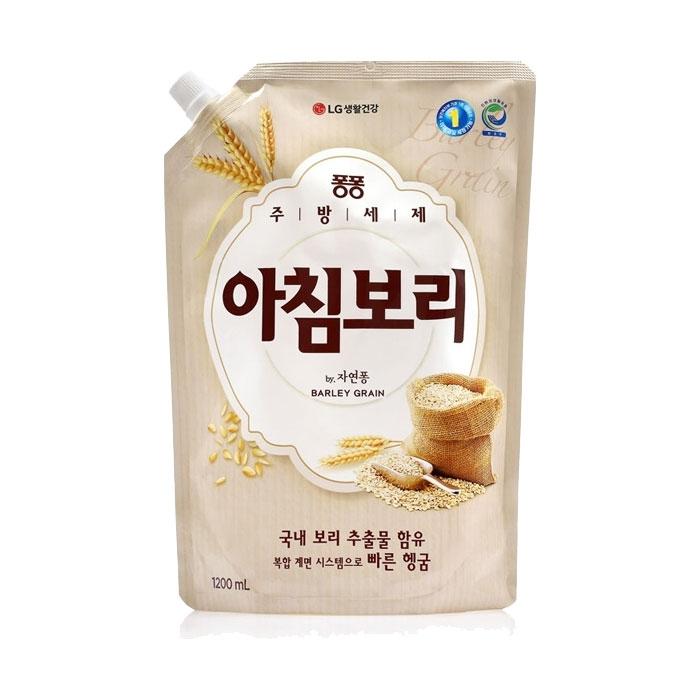 [슈퍼마트] 퐁퐁 아침보리 안심설거지 리필1200ml