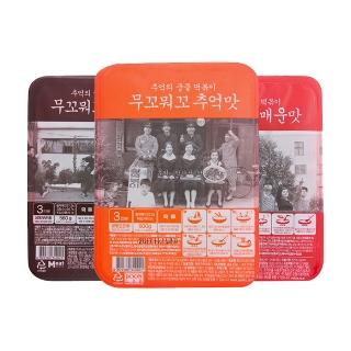 [티몬균일가] 무꼬뭐꼬 추억맛/짜장맛/매운맛 3종