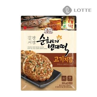 [슈퍼마트] 롯데 광장시장 순희네빈대떡 고기지짐 300g