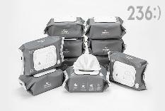 [티몬균일가] 236:) 아기물티슈 캡형 100매 10팩