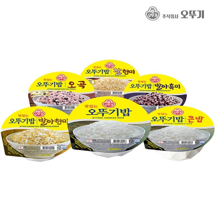 [오뚜기] 맛있는 오뚜기밥24입 외