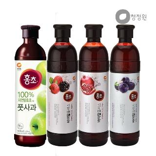 [티몬균일가] 청정원 마시는 홍초 4종 2개 골라담기