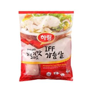 [슈퍼마트] 냉동 하림 IFF 가슴살 1kg 1+1