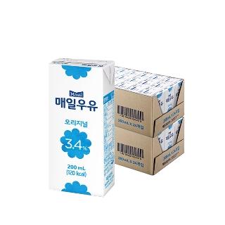 [티몬2020] 무한타임 매일유업 멸균우유 200ml 48팩