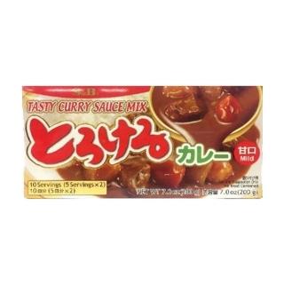 [슈퍼마트]에스앤비 토로케루 야채카레 순한맛 200g