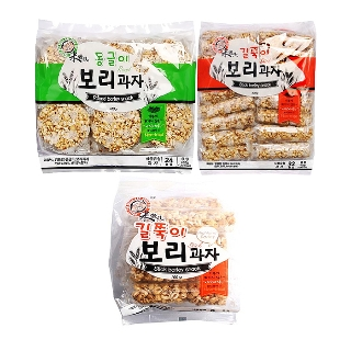 [슈퍼마트] 엉클팝 동글이 보리과자 400g 외 2종
