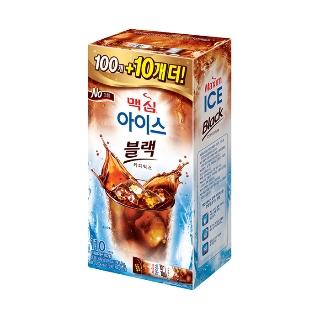 [티몬균일가] 맥심 아이스 블랙 커피믹스 100T(10T 또는 텀블러 증정)