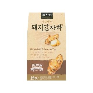 [슈퍼마트]녹차원국내산돼지감자차15T
