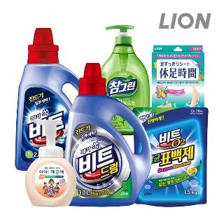 [슈퍼마트] LION 비트/아이깨끗해/휴족시간/참그린