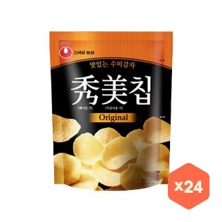 [대용량] 농심 수미칩 오리지널 85gX12입X2박스
